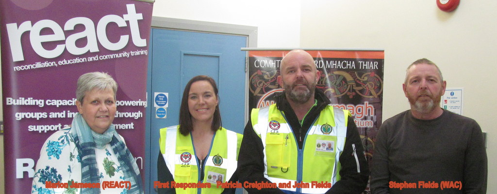 Community First Responders new volunteers