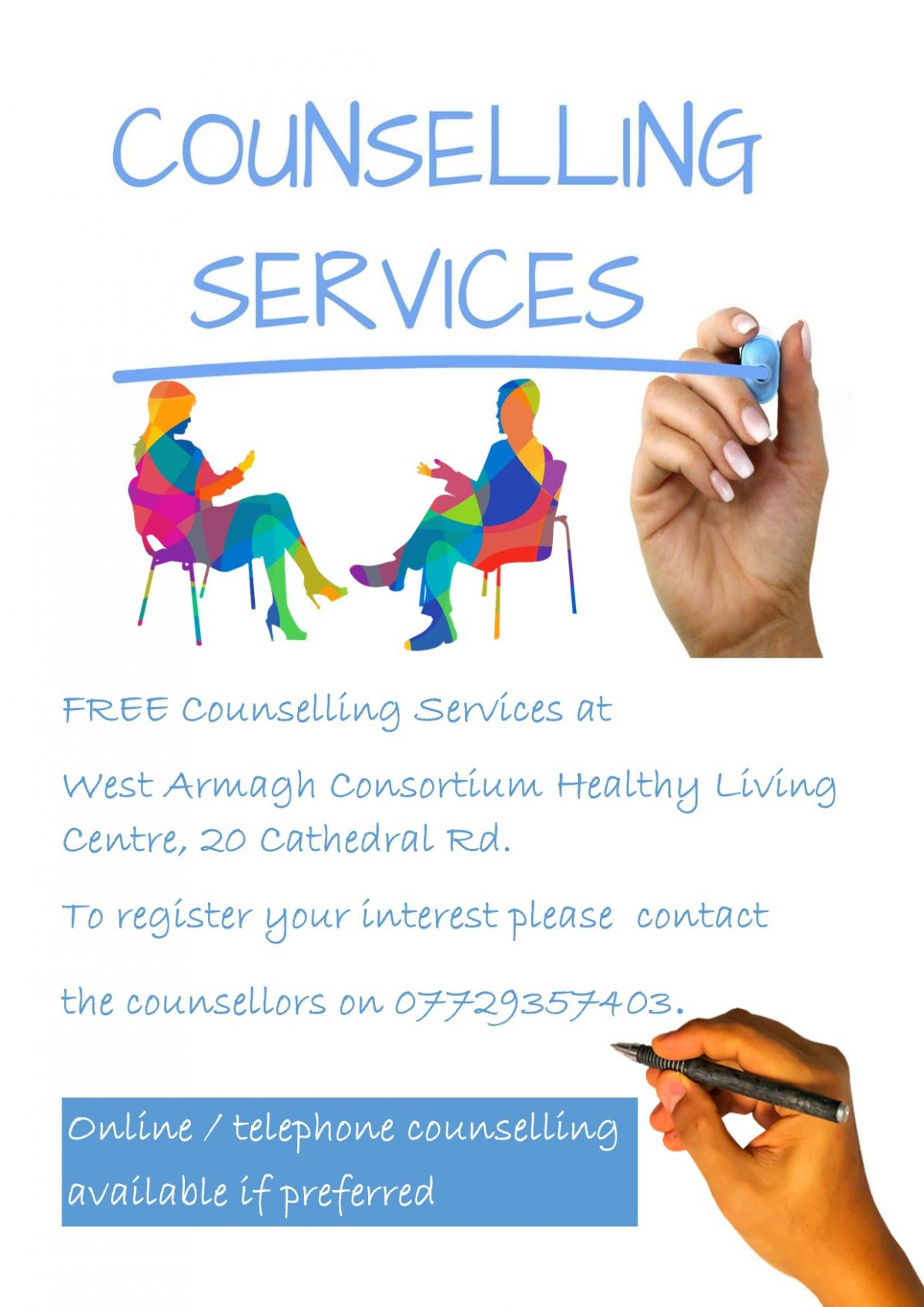 Free Counselling HLC xx